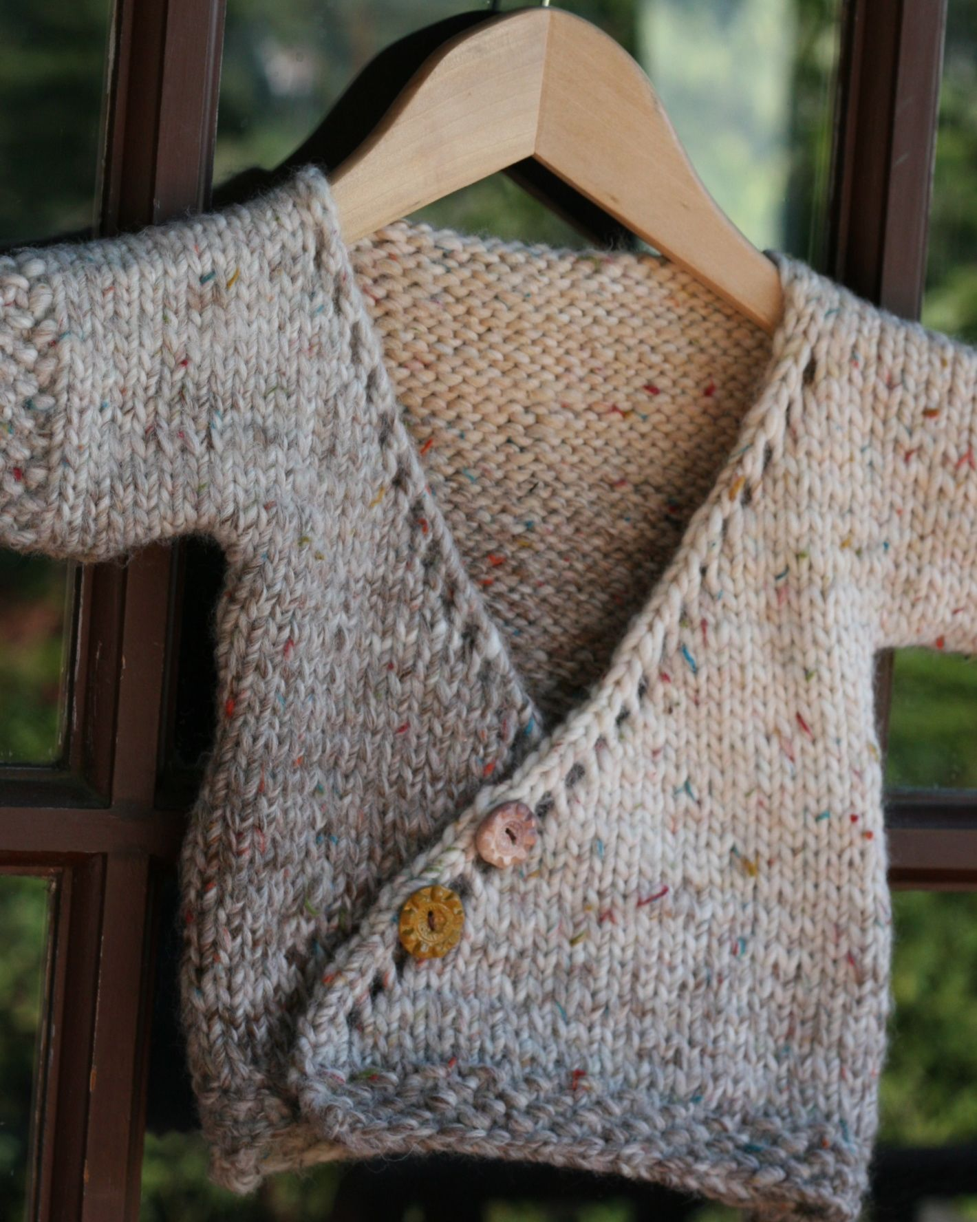Knitting Pattern Kimono : Baby Kimono Knitting Pattern Patterns Gallery